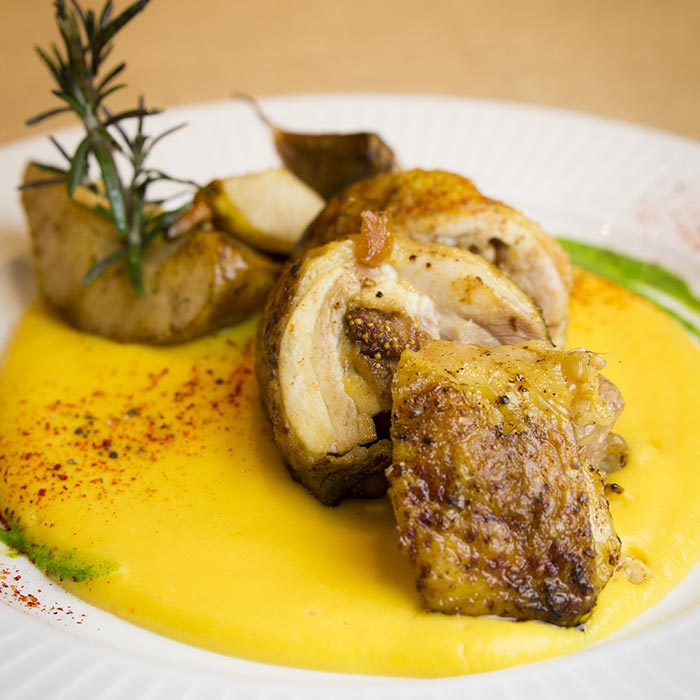 Offrez-vous un repas avec le chef Patrizio Dell'Orto