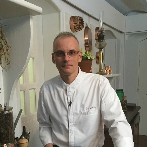 Eric Duvin, chef à domicile, private chef France