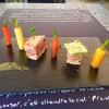Mille-feuille de veau et jambon serrano rôti au beurre de marjolaine