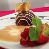 Chocolat craquant, coulant caramel au beurre salé
