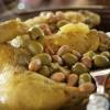 Tajine R'bati poulet aux olives et aux citrons confits