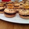 Macarons chocolat/nougatine