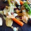 Artichaut et légumes de saison