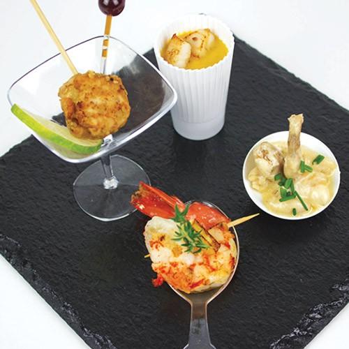 Chef domicile sedan r server les menus de christian piot - Amuse bouche chaud ...