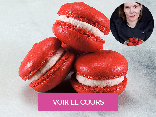 Cours de macarons Marie Pouget Osmont