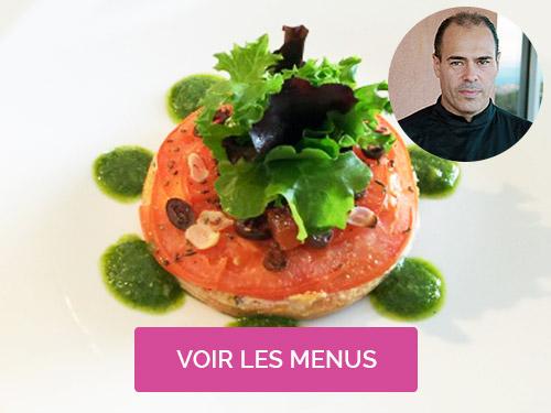 Cuisinier à domicile Mouans-Sartoux Nice Franck Dejean