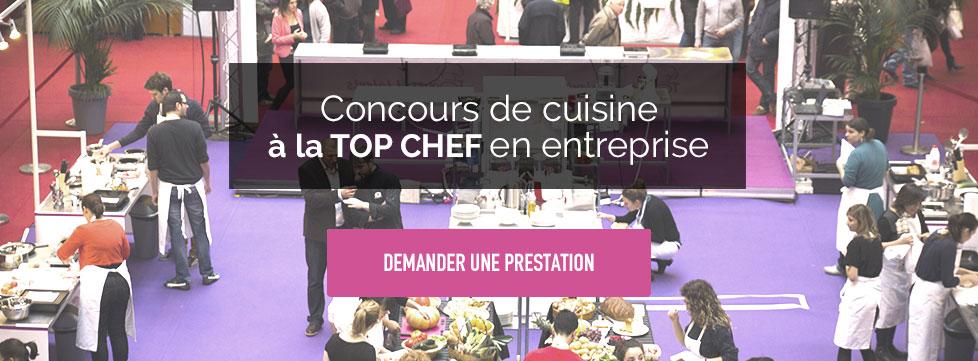 Organiser un concours de cuisine en entreprise façon Top Chef