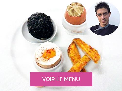 Chef à domicile Biarritz Romain Marion
