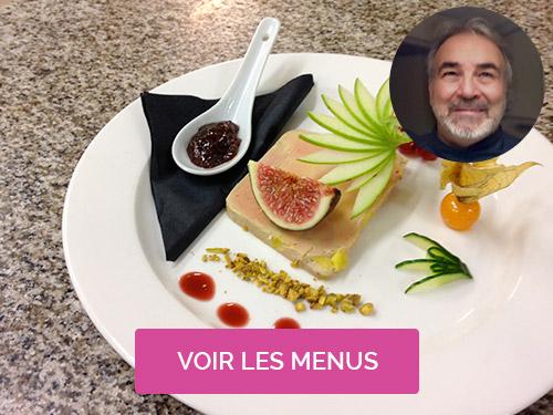 Chef à domicile Montpellier Christian Manolios