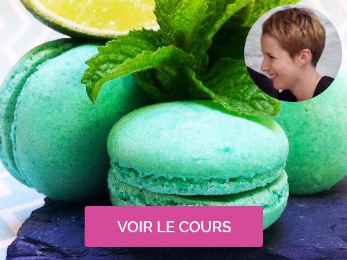 Cours de macarons Camille Poirier