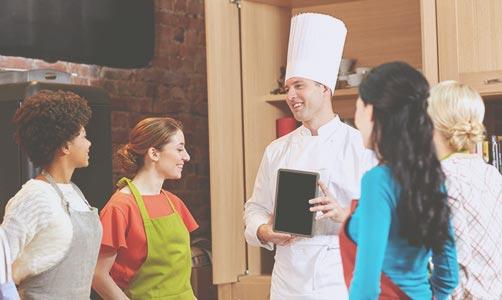 EVJF cours de cuisine